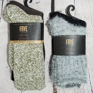 NWT FRYE Supersoft Boot Socks - 4 Pairs